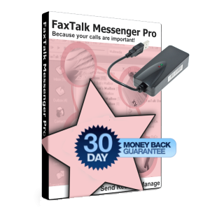 FaxTalk Messenger Pro with Modem