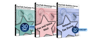 Features of FaxTalk software