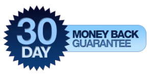 We offer a 30 day money back guarantee